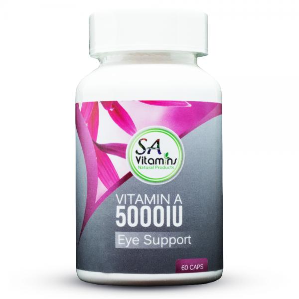 Vitamin A 5000iu 60 Capsules